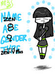Tegaki Vomit: Zen by invader-zim-14
