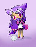 Catgirl cheerleader by invader-zim-14