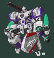 Mega-Megatron by Johnny216