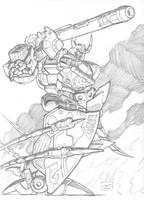 Cybertron Unicron by Johnny216