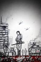 Ljubica the Traitor - AD 1993, Bosnian Genocide by gambarginaa