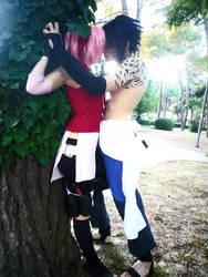 Sakura and Sasuke Cosplay by Eyes-0n-Me