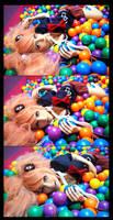 Enoshima Junko Ball Pool by Eyes-0n-Me