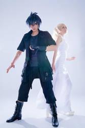 Final Fantasy XV Noctis and Lunafreya by Eyes-0n-Me