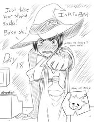 Day 18: A Store Clerk Witch by GrayDustOA