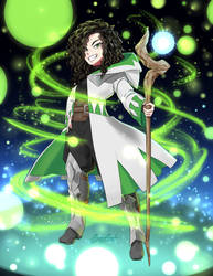 Commission: Healer by GrayDustOA