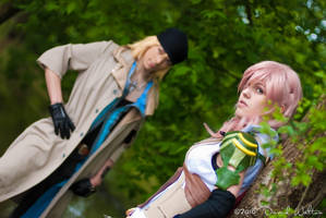 FFXIII - Lightning and Snow by TheSeeker417