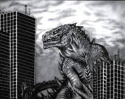 Godzilla by Geinen