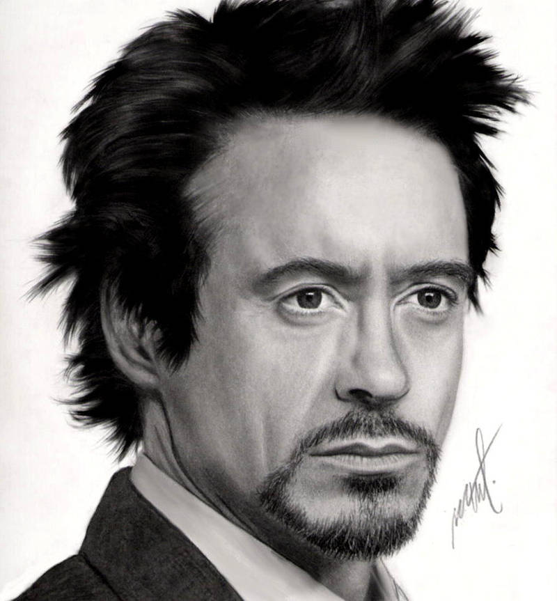 Robert Downey Jr by Geinen