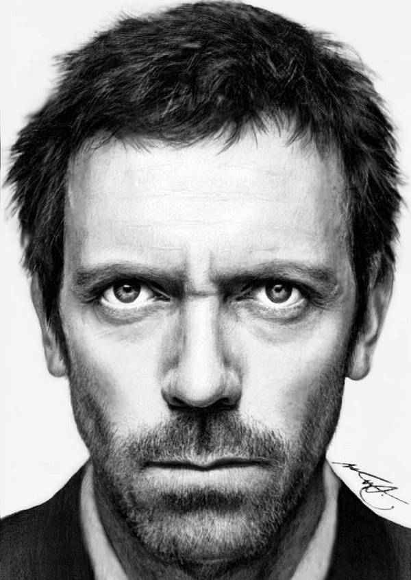 Hugh Laurie by Geinen