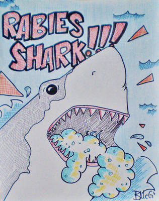 OC- Rabies Shark by AiMoogle89