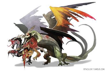 Emperor Dragon by AbelPhee