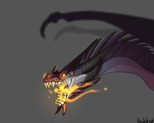 Dragon by AbelPhee