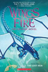 Wings of Fire: The Lost Heir (Graphic Novel) Cover by AbelPhee