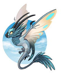 RPG Dragon #3: Wind by AbelPhee
