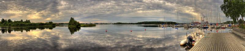 Oulu panorama by Orzel