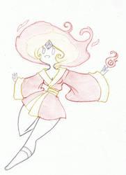 Flame Princess Kimono by JennaViva