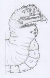 Mutant Worm by TheOrdinaryBird