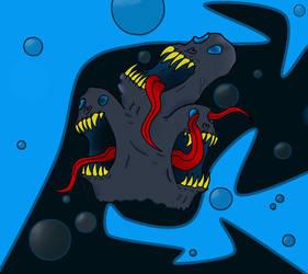Chaos skulls Cartoon by TheOrdinaryBird