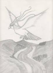 #018 Pidgeot by TheOrdinaryBird