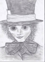 The Mad Hatter by TheOrdinaryBird