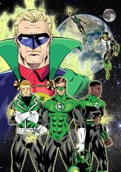 Green Lantern - 75 years : color by Gadrien