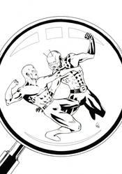 FCBD : Ant-man vs Atom by Gadrien
