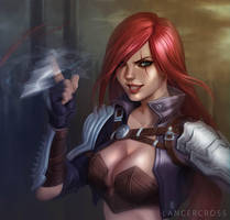 Katarina Du Couteau by lancercross