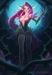 Reimagined Zyra LOL by lancercross