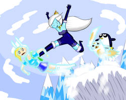 Fionna the Hu----Snowboard? by guywholikesflying