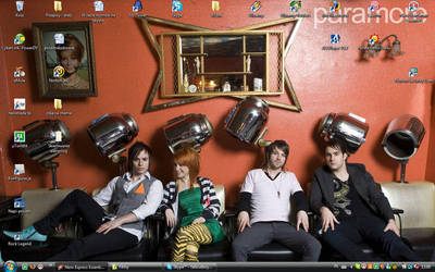 wallpaper paramore by fobmroweczka