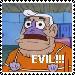EEEEEVIL Stamp by FernclawStamps