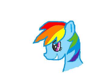 Rainbow Dash by Silverfrost128