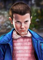 Eleven - Stranger Things by lara-cr