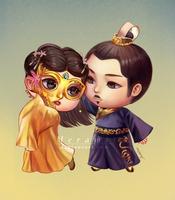 C: The Empress of China by Meramii