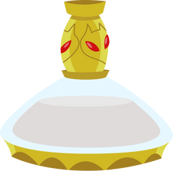 THE FLASK! (White) by GlitchKing123