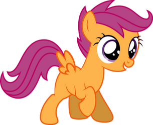 Scootaloo! by GlitchKing123