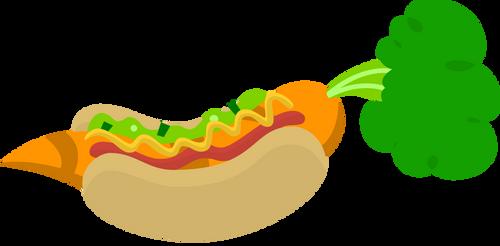 CarrotDog by GlitchKing123