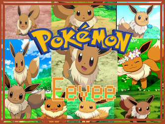 Eevee Collage by LadySesshy