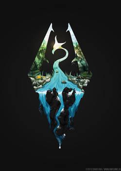 Revisiting Video Game Symbols: Skyrim by hyperlixir