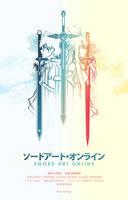 Sword Art Duo by hyperlixir
