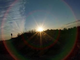 Early sunset by ThePraiodanish