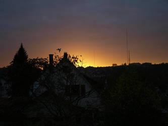 Sunset above Muehlacker by ThePraiodanish