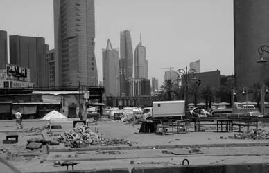 Kuwait Contrasts by ThePraiodanish