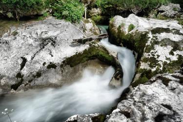 Korita Mostnice near Bohinj by ThePraiodanish