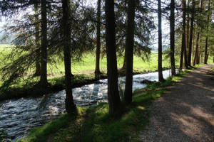 A river in Italy by ThePraiodanish