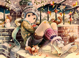 Christmas Over Hibernation by NOEYEBROW