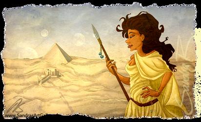Abydonian Skies by SplatterPhoenix