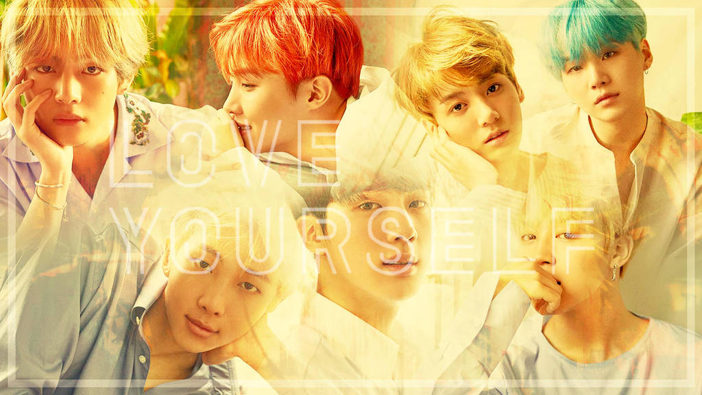 Bts Love Yourself Desktop Wallpaper 1 By Beemicas On Deviantart
