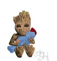 Groot by ElizaEvry